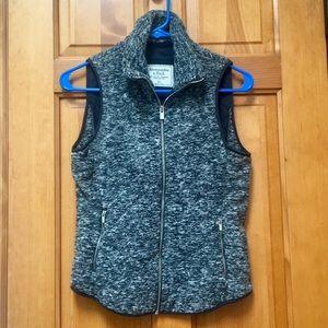 NWT A&F Fleece Vest